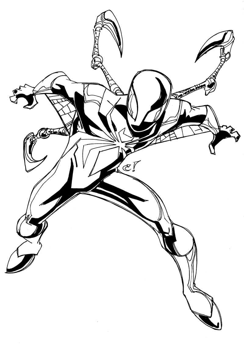Cranboyz Online The Iron Spider