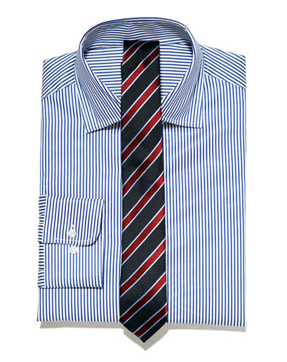 Gentleman style the shirt and tie guide for Striped shirt with tie
