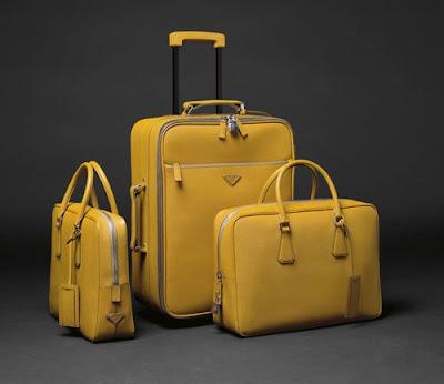 Gentleman Style: Prada Trolley Luggage