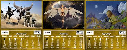 CALENDARIO Ilustrado 2008