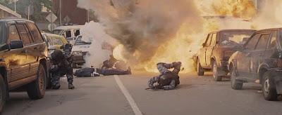 фото взорванной машины