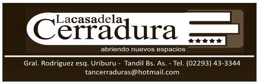La Casa de la Cerradura & Herrajes - Tandil Prov. de Bs. As