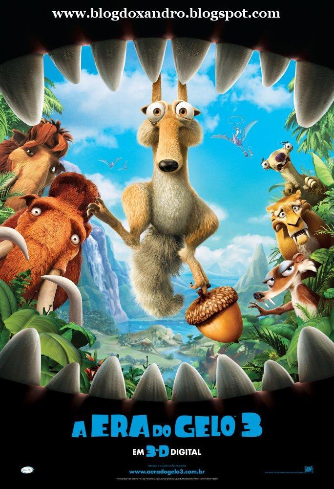 Baixar Filme Era do Gelo 3 - Dublado - DVDRip