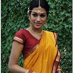 Shraddha Das in Silk Saree Cute Photos