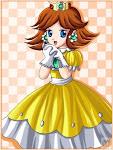 La bella princesa Daisy en anime!!!