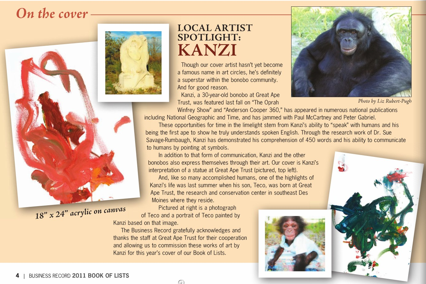 Kanzi: The Great Ape Superstar