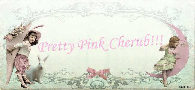 Pretty Pink Cherub