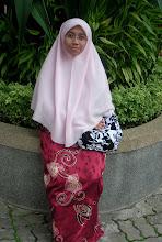 my 1st sis,,,Nuur Sa'adah
