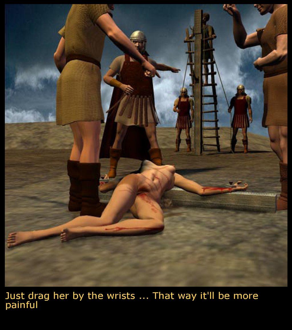 Perfect. her bdsm crucified women hübsche und