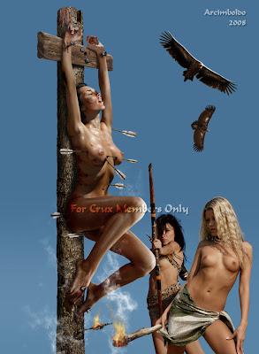 Bdsm death by crucifixion