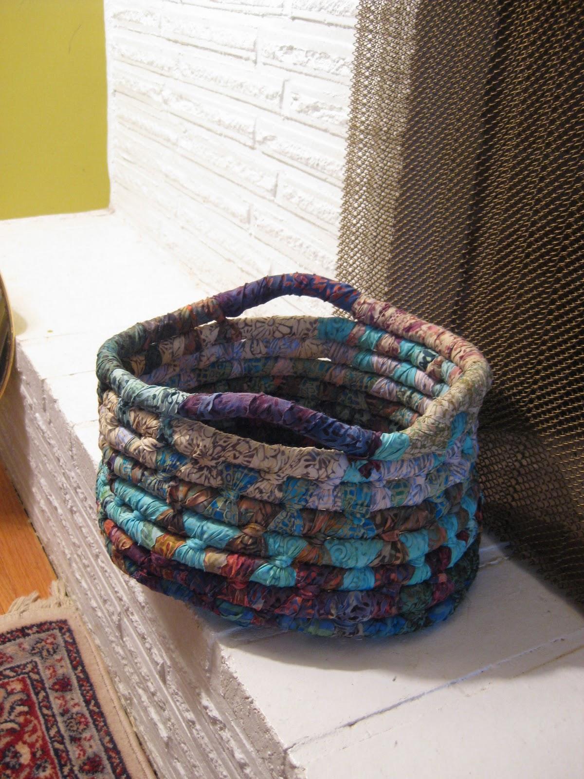 janae king designs chunky rope baskets. Black Bedroom Furniture Sets. Home Design Ideas