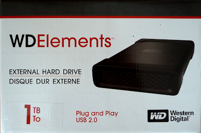 Test: WD Elements 1TByte