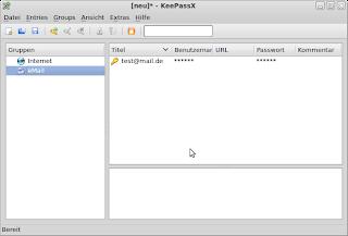 Passwortverwaltung in Ubuntu - KeepassX und Seahorse