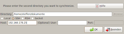 Netbooks und Notebooks synchronisieren mit Unison