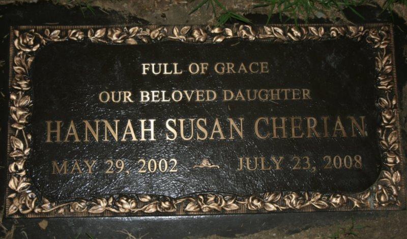 Hannah- A Memorial