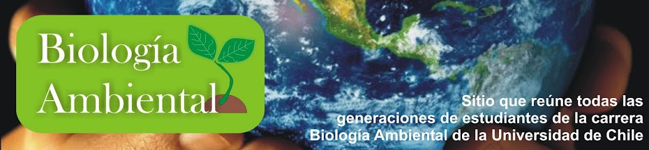 Biología Ambiental Universidad de Chile