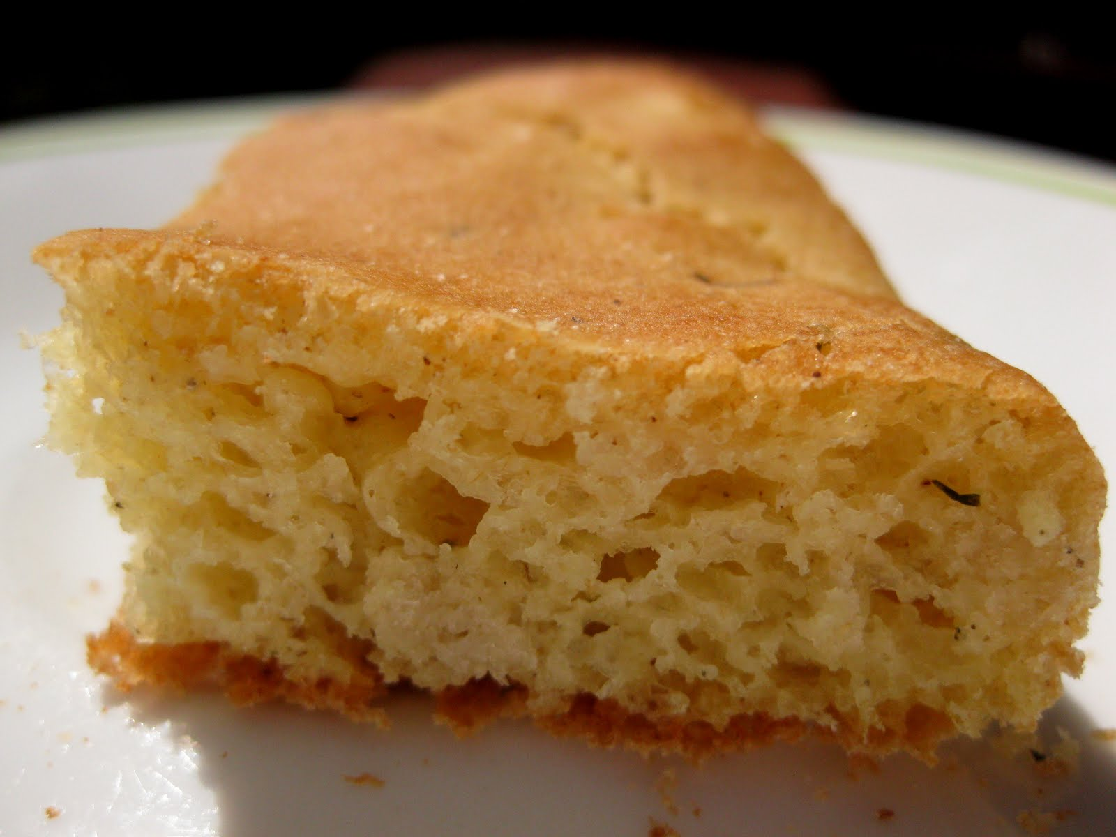 how to eat focaccia bread