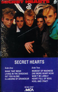 The Secret Hearts (ex-Rockats) - 1985