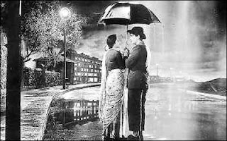 romantic rain love greetings