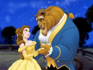 disney beauty and beast romance
