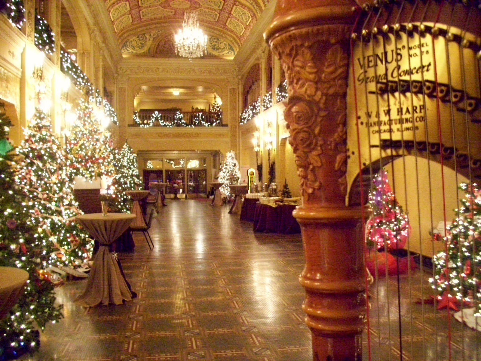 Fort Wayne Harpist Embassy Theatre Christmas Party The Classic