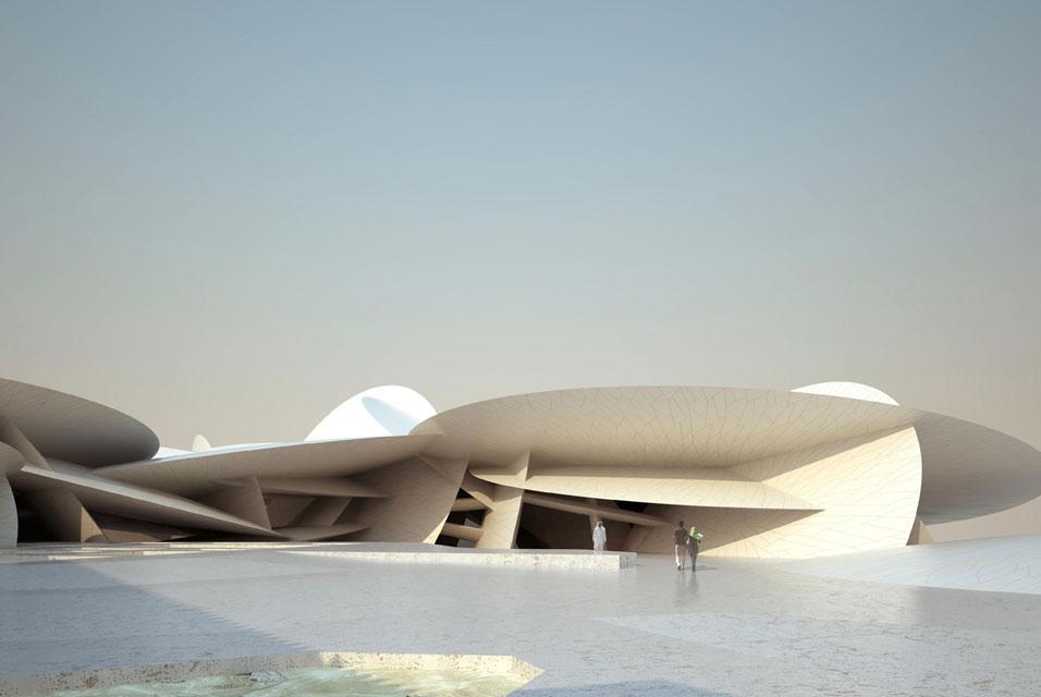 FIC123 CB - E.U.: QATAR MUSEUMS AUTHORITY UNVEILS JEAN NOUVEL ...