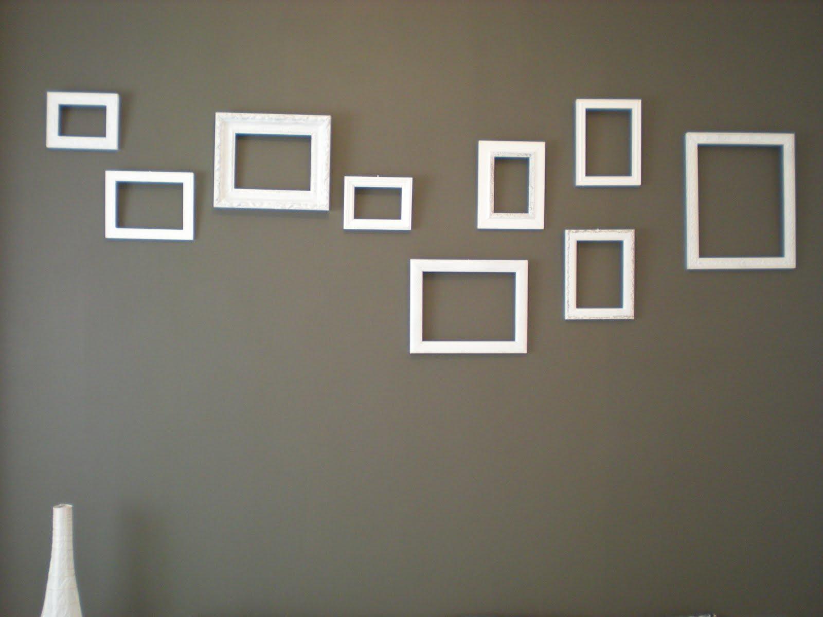 Mis manos molan: Combinación de marcos para la pared de la habitación
