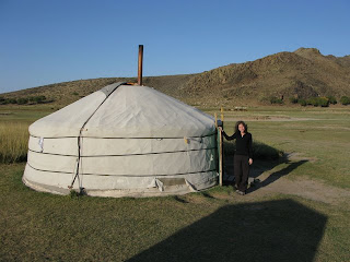 my ger (yurt) in mongolia