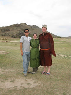 traditional mongolian dress