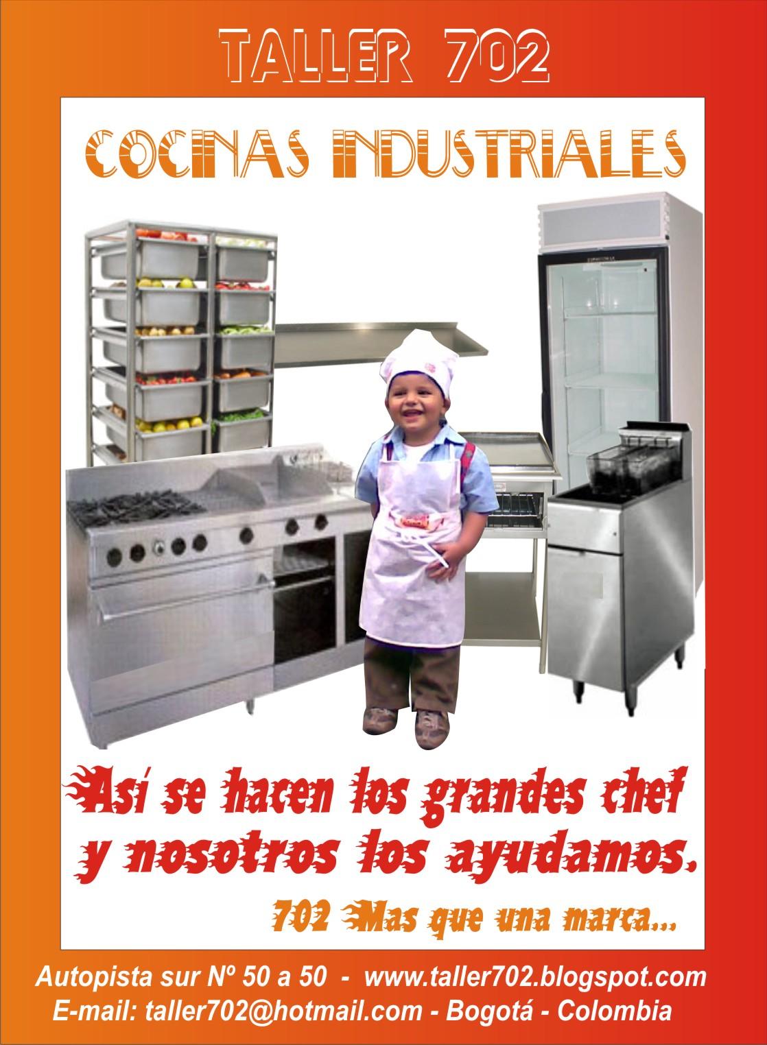 Cocinas cocinas industriales for Puertas para cocinas industriales