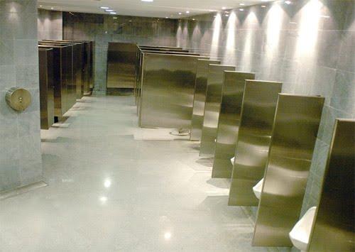 Baños Modernos Corona:Accesorios: División para baño institucional