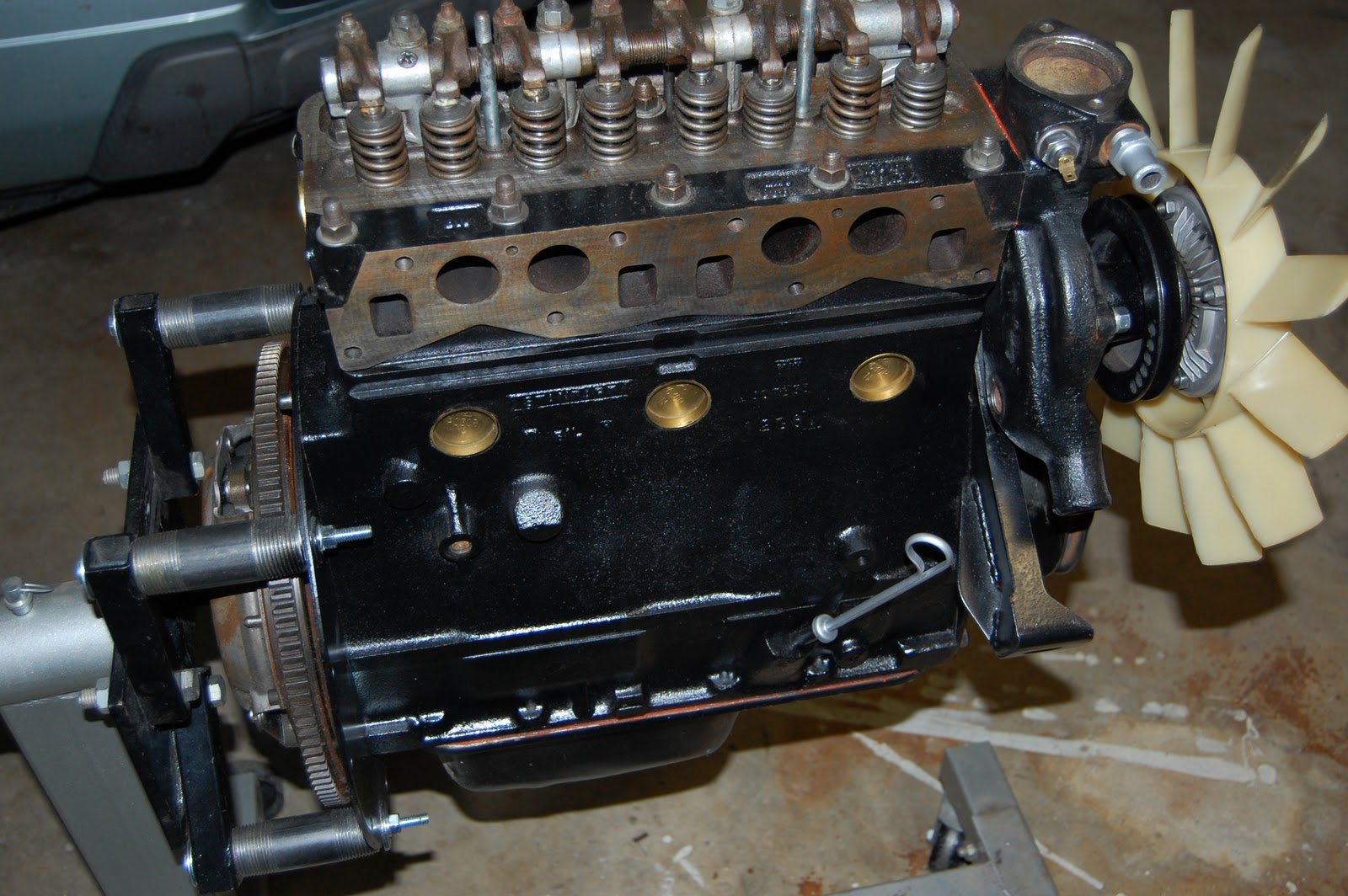 Engine for mg midget