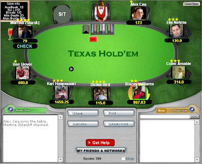 Juego texas holdem oeste
