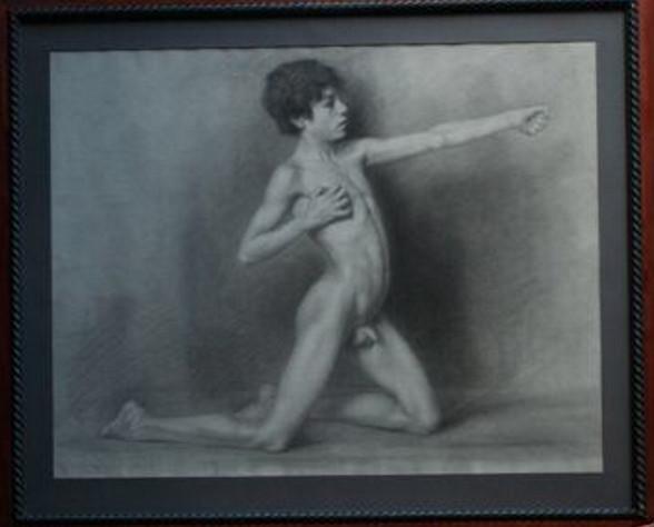 Nude Boy Jura Naked