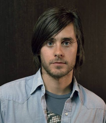Men's long hairstyle from Jared Leto