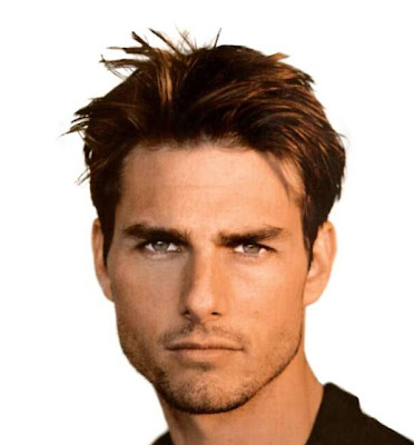 Tom Cruise classic hairdo