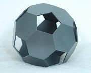 Icosaedro truncado (vazado)