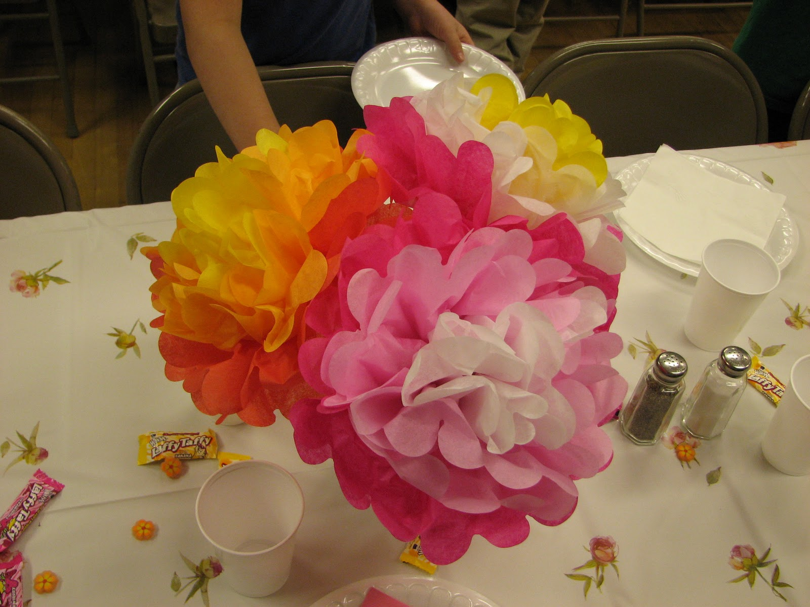 A Savvy Life A Savvy Craft Tissue Paper Flowers