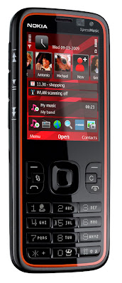 The Nokia 5630 Xpressmusic Has A 35 Mm Headphone Jack And 32 Megapixel Camera 4x Zoom Dual LED FlashIt Also Features 3G For Faster