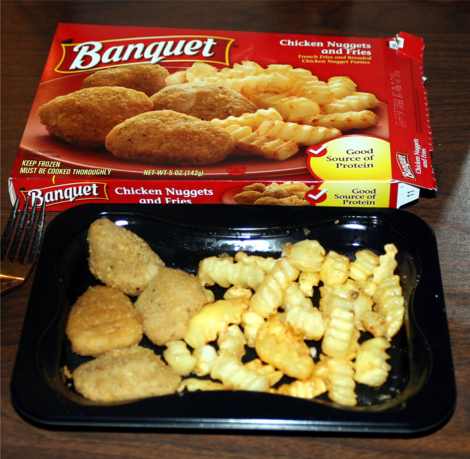 Chicken Nuggets: Forsythkid: A Critique Of Banquet's Chicken Nuggets And Fries