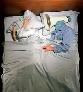 Snoring image