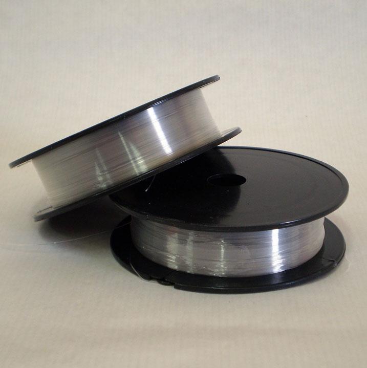 de silicona este tipo de hilo suele utilizar para trabajos con acabados elsticos como anillos y pulseras