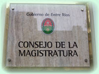 Miembros del Consejo de la Magistratura