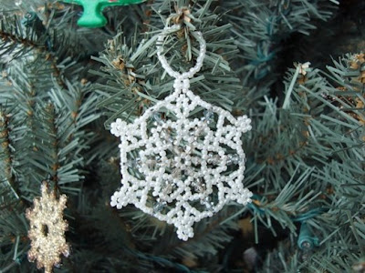 Champagne Snowflake | Beading Patterns | Jewelry Projects | Cousin