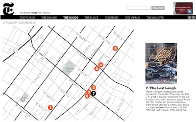 Estevan Oriol The Last Laugh In Ny Times Style Map Los Angeles