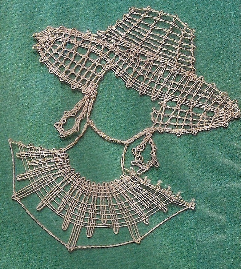 Bobbin lace pattern for the beginners