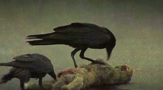 walking dead medve fekete madár