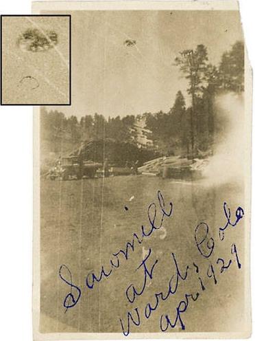 1929, Ward, Colorado, USA