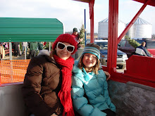 Kelsey & I on a wagon ride