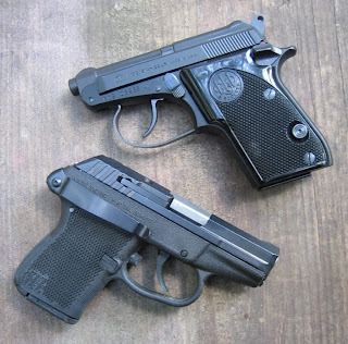 KelTec P32 and Beretta M21A